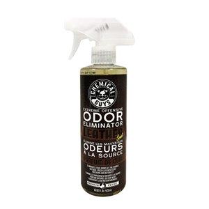 Éliminateur d'odeur au parfum de cuir 16 onces liquides par Chemical Guys, paquet de 6
