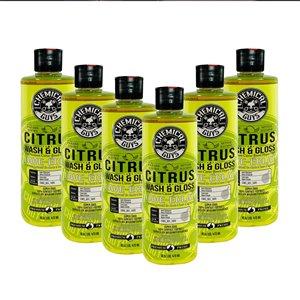 Nettoyant extérieur de voiture Citrus 16 onces liquides par Chemical Guys, paquet de 6