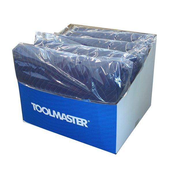 Couverture de déménagement en feutre 80 po x 72 po de Toolmaster, paquet de 4