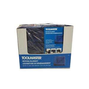 Couverture de déménagement en feutre 40 po x 72 po de Toolmaster, paquet de 4