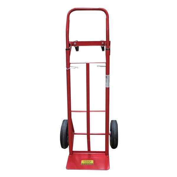 Diable convertible en acier rouge à 4 roues 440 lb de Toolmaster