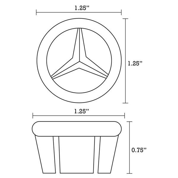 Ens. lavabo rectangulaire en céramique biscuit, 14,35 po x 20,75 po, de American Imaginations