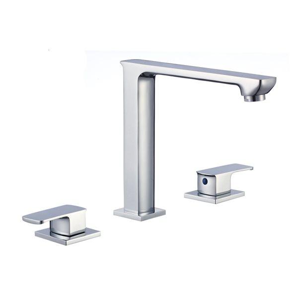 Ens. lavabo rectangulaire 14,35 po x 20,75 po, céramique blanc cassé de American Imaginations