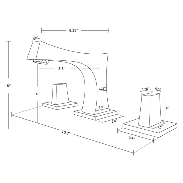 Lavabo sous-comptoir en céramique et drain pour trop-plein/robinet par American Imaginations, 14,35 po x 20,75 po, biscuit