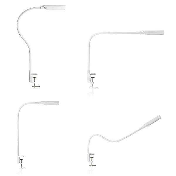 Lampe standard bâton tactile LED de 32po Uberlight Flex par Reliable, lot de 1, blanc