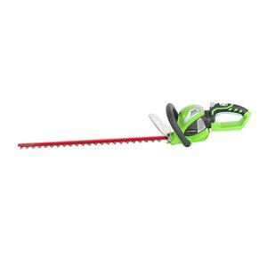 Taille-haie électrique sans fil Greenworks 40 volts, 24 po (outil seulement)