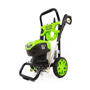 Greenworks 2200-psi 2.3-GPM Cold Water Electric Pressure Washer