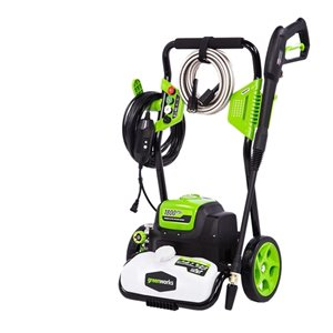 Greenworks GPW 1800-psi 1.1-GPM Cold Water Electric Pressure Washer