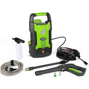 Nettoyeur haute pression électrique à eau froide Greenworks, 1 500 lb/po², 1,2 gal/min