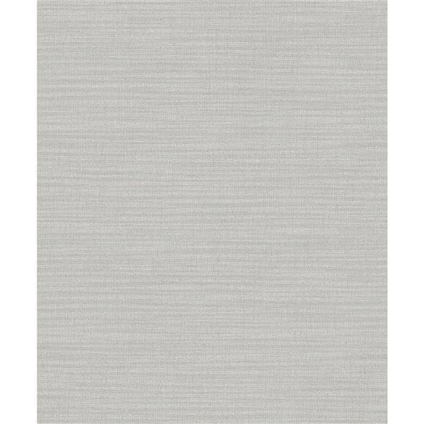 Papier peint abstrait non-tissé non encollé Zora de 57,8pi² par Advantage, gris