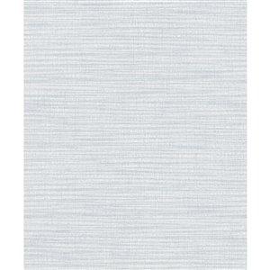 Papier peint abstrait bleu non-tissé non encollé Zora de 57,8pi² par Advantage