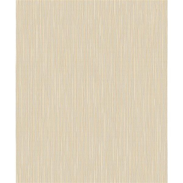 Papier peint abstrait non-tissé non encollé Lawrence de 57,8pi² par Advantage, doré