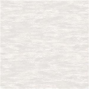 Papier peint abstrait texturé non encollé en vinyle Surfaces Aubrie par Advantage, 57,8 pi², beige neutre