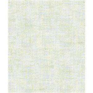 Papier peint abstrait texturé non encollé et non tissé Surfaces Alicia par Advantage, 57,8 pi², vert pâle