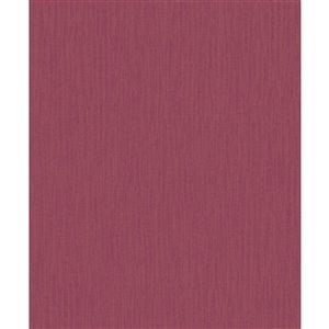 Papier peint abstrait texturé non encollé et non tissé Surfaces Raegan par Advantage, 57,8 pi², rouge
