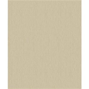 Papier peint abstrait texturé non encollé et non tissé Surfaces Hayley par Advantage, 57,8 pi², jaune