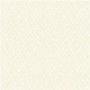 Papier peint géométrique texturé non tissé et non encollé Zoey par Advantage, 57,8 pi², argent