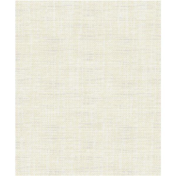 Papier peint abstrait texturé non encollé et non tissé Surfaces Alicia par Advantage, 57,8 pi², gris