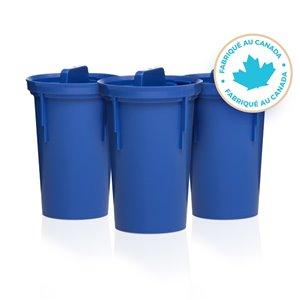 Paquet de 3 filtres alcalins pour pichet d'eau Mina de Santevia
