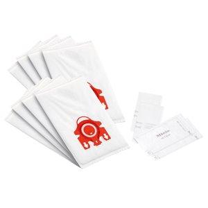 Sac d'aspirateur en tissu jetable, F/j/m 3,5, de Miele, paquet de 8