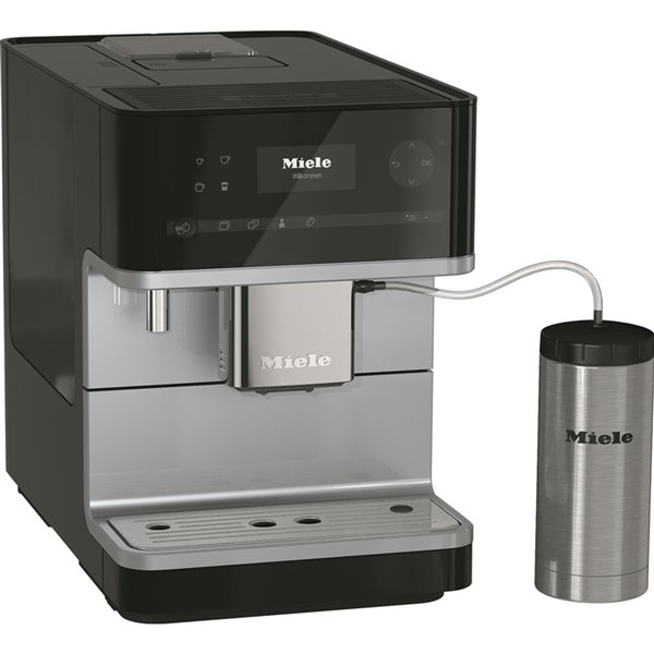 Machine Espresso Cm6350 Miele super automatique, noire