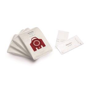 Sac d'aspirateur en tissu jetable, F/J/M de Miele, 3,5 L, paquet de 4