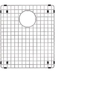 Grille d'évier en acier inoxydable poli Elegant par Elegant Stainless de 16,50 po x 14 po
