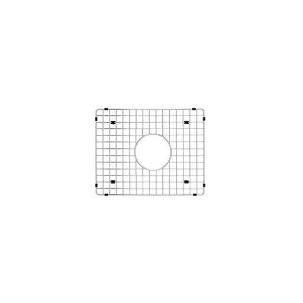Grille d'évier en acier inoxydable poli Elegant par Elegant Stainless de 14,50 po x 19,50 po