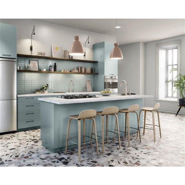 Robinet de cuisine résidentiel Sip Modern à 1 poignée/levier à arc parc Moen (Acier inoxydable résistant aux taches)
