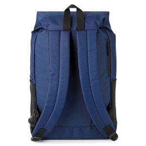 Sac à dos bleu 12 po x 5,5 po x 17 po, par Marin Collection
