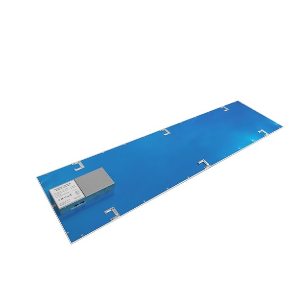Lampe à panneau plat à DEL intégrée de Power Q, 2 pi x 1 pi (Paquet de 2)