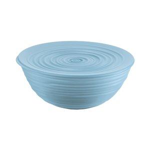 Bol Tierra avec couvercle bleu, grand, par Guzzini