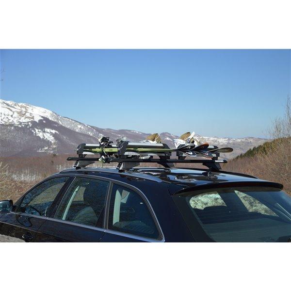 Porte-ski pour barres de toit ICEBERG par Menabo