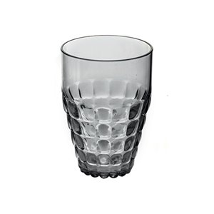 Guzzini Tiffany Grey 17-fl oz. Plastic Tumbler Glass