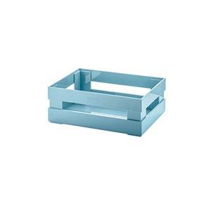 Bac en plastique Kitchen Active bleu 8,9 po l. x 3,2 po h. x 6 po p. de Guzzini