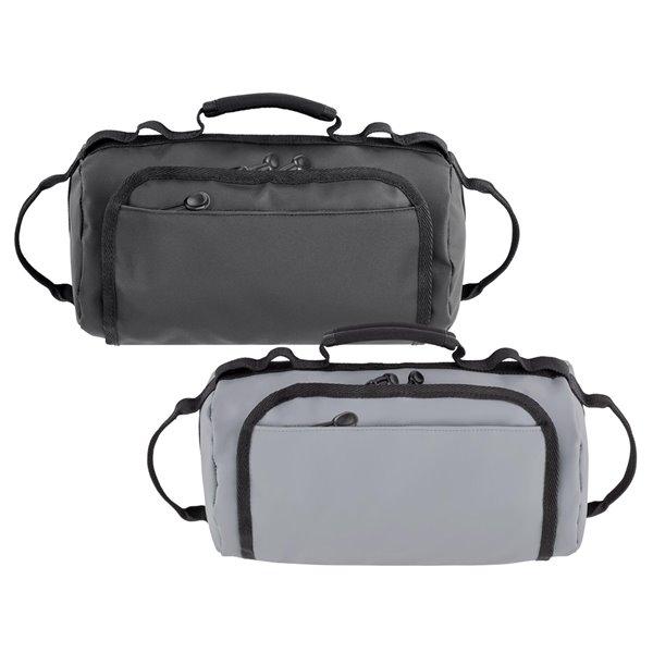Trousse à accessoires noire 6 po x 6 po x 11 po, par Marin Collection