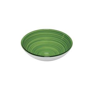 Bol Twist vert, petit, par Guzzini