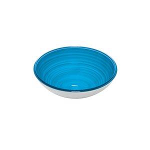 Guzzini Twist Small Blue Bowl