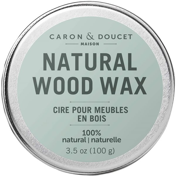 Cire pour bois 100% naturelle de Caron & Doucet, 100 g