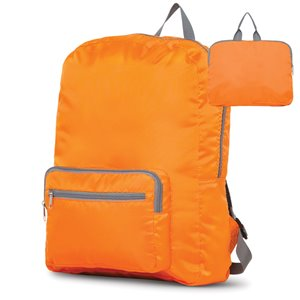 Sac à dos orange 12 po x 5 po x 17 po, par Marin Collection