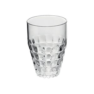 Guzzini Tiffany Clear 17-fl oz. Plastic Tumbler Glass