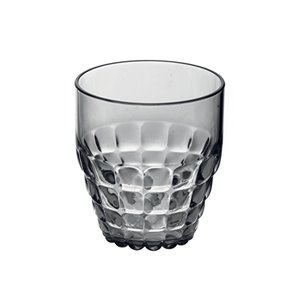 Guzzini Tiffany Grey 12-fl oz. Plastic Tumbler Glass