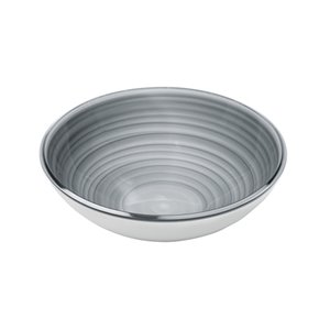 Guzzini Twist Medium Grey Bowl