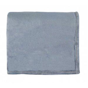 Couverture en polyester 50 po x 60 po, gris, par Marin Collection