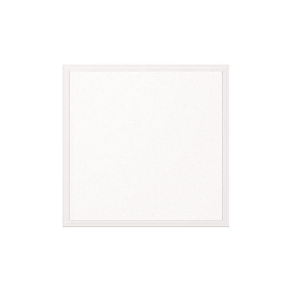 Lampe à panneau plat à DEL intégrée de Power Q, 2 pi x 2 pi (Paquet de 2)