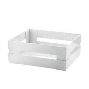 Guzzini Kitchen Active 12-in W x 4.5-in H x 8.7-in D White Plastic Bin