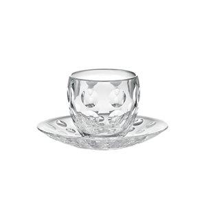 Guzzini Venice Clear 3-fl oz. Plastic Espresso Cup