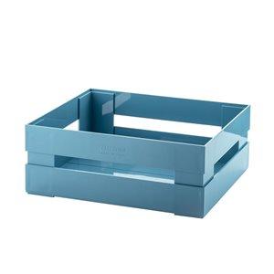 Bac en plastique Kitchen Active bleu 12 po l. x 4,5 po h. x 8,7 po p. de Guzzini