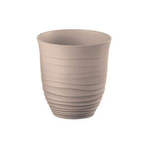 Guzzini Tierra Brown 11-fl oz. Plastic Tumbler Glass