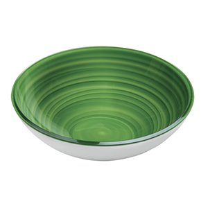 Bol Twist vert, grand, par Guzzini